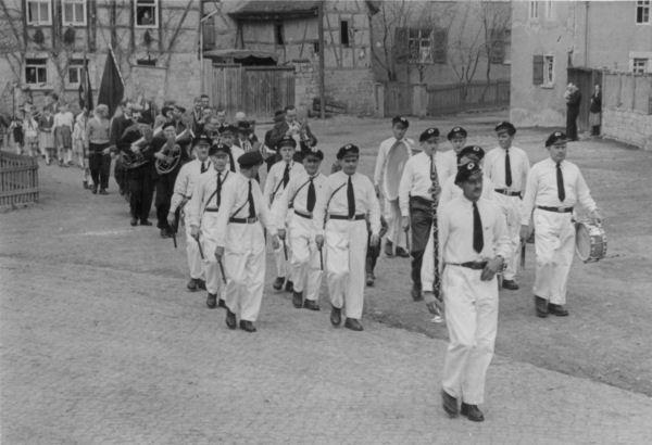 1950-ger - Kinderfest in Mellingen