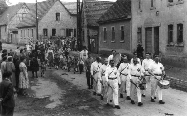 1950-ger - Kinderfest in Taubach