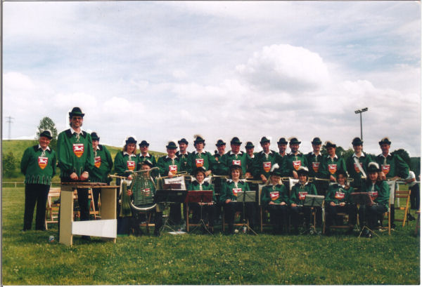 1991 - Spielmannszug  Twistringen in Mellingen